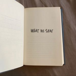 Harper Other - What We Saw by Aaron Hartzler